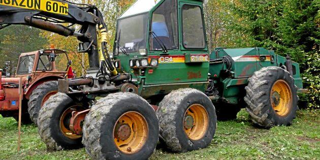 ATL TV: Högtid för gamla skogsmaskiner