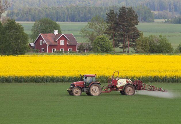 Jordbruk som är i drift skulle kunna få ett bidrag för att fortsätta med livsmedelsproduktion på ett hållbart sätt för att säkra Sveriges självförsörjningsgrad, skriver Lena Jarlöv.