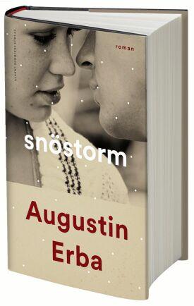 "Augustin Erbas roman ""Snöstorm""."