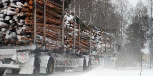 Regeringen backar – ingen vägslitageskatt för tunga lastbilar