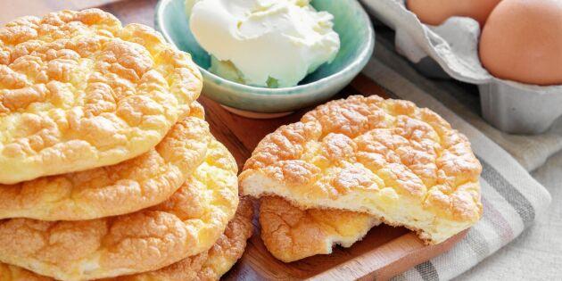 LCHF-brödet oopsies – en ny nyttig frukostvana