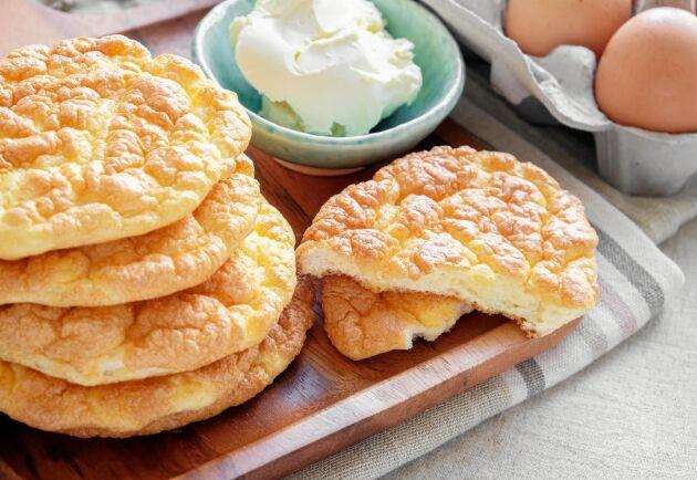 Oopsies är platta bröd som påminner om klassiska tekakor.