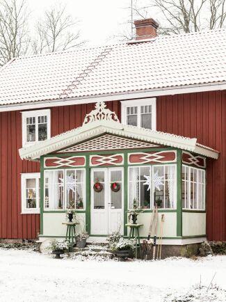 Gården är en riktig idyll rik på historia, med ursprung från 1800-talet.