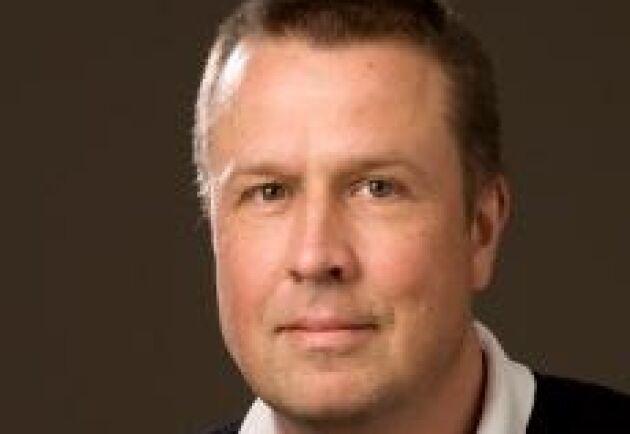 Per-Erik Hallin är egendomsförvaltare på prästlönetillgångarna på Göteborgs stift.