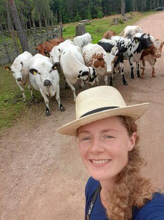 Isabelle Fredborg vill veta allt om den svenska fäbodskulturen.