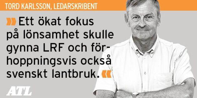 Tänk mer på lönsamhet, LRF