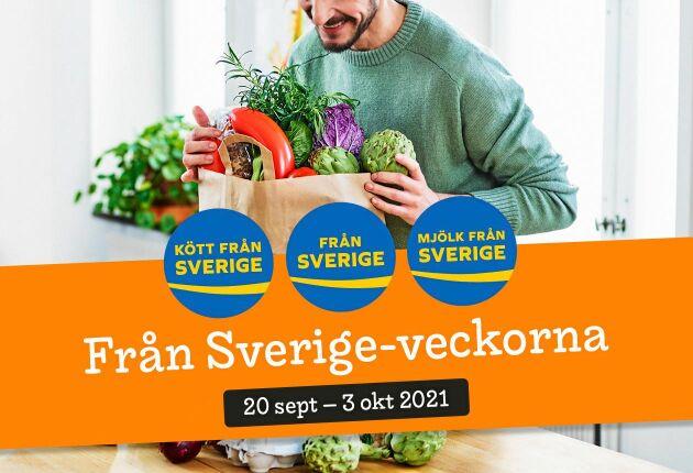 Från Sverige anordnar en supervecka över hela landet. Kolla efter märkningen i din butik!