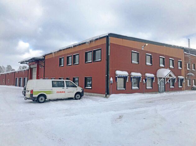 Claas nya serviceanläggning i Borlänge