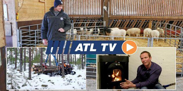 ATL TV: Band-ATV tar sig fram i djupsnön