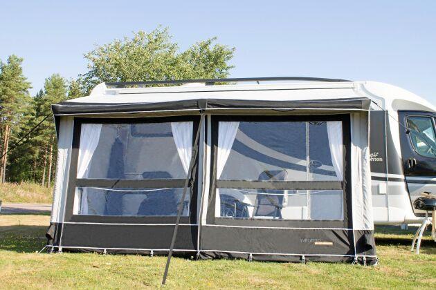 Uppblåsbara förtält, lufttält, har förenklat campinglivet rejält.