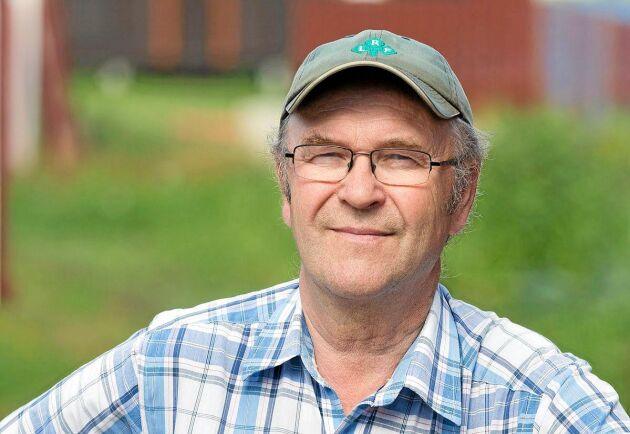 Arne Lindström, lantbrukare från Röbäck.