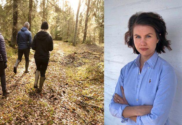 I skogen finns det definitivt utrymme för både kvinnor och män, skriver Ester Hertegård.