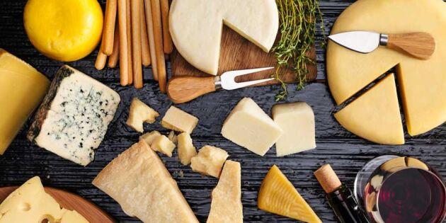Ostskola: 6 typer av ost du bör ha koll på