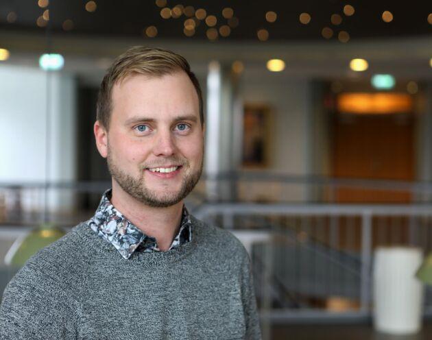 Joel Persson, transportutvecklare på Södra.