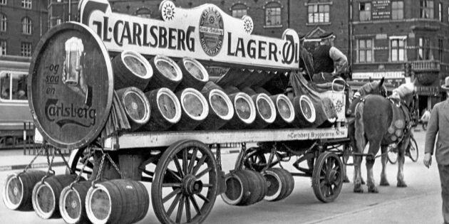 Hästarna fortfarande viktiga för Carlsberg