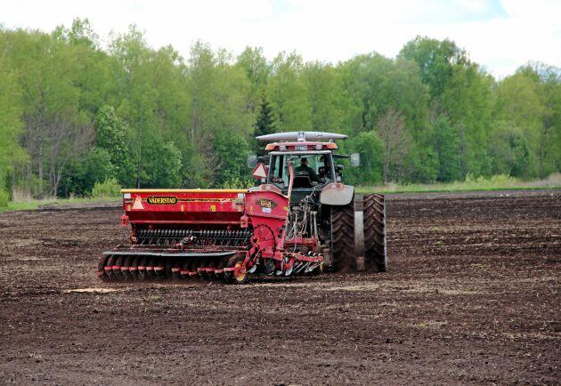 Lantbruk tillhör de minst lönsamma branscherna i organisationen Företagarnas rapport.