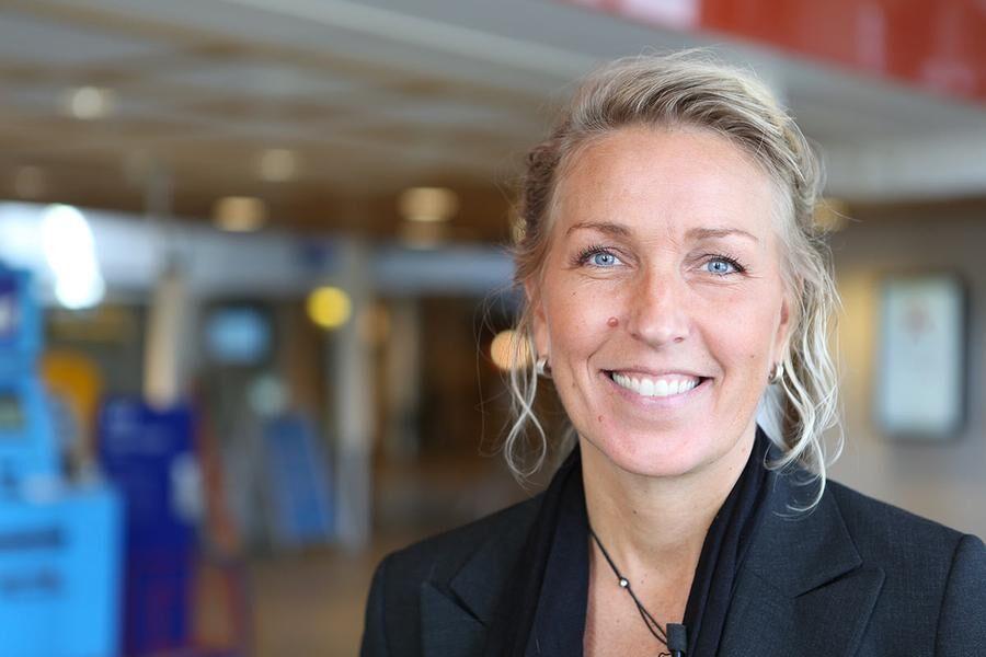 Linda Jonsson, hotelldirektör i Umeå, vill göra en insats för klimatet.