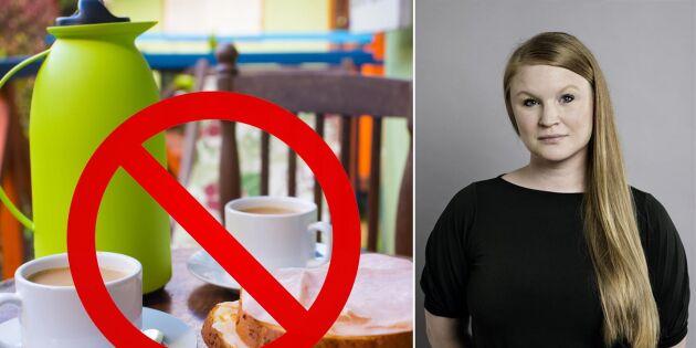 Vänstern: Veganskt julbord och ingen mjölk till kaffet