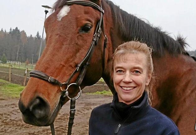 Maria Persson har utsetts till Sveriges bästa ridlärare.