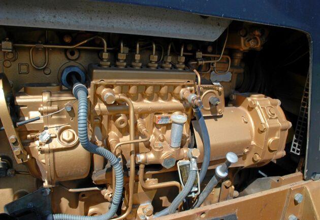Motorn från Scania gav 167 hästkrafter.