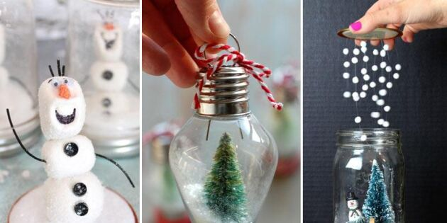 Julstämning på burk – 12 snöglober du bara måste se!
