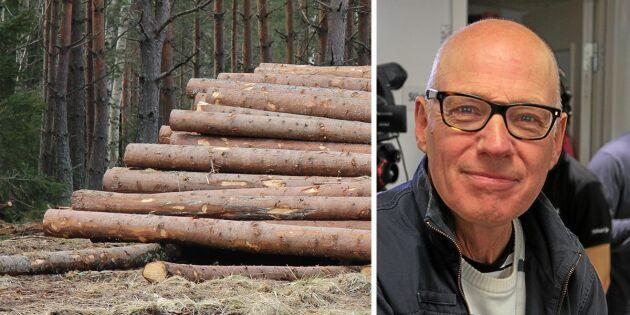 """""""EU reglerar för första gången svensk avverkning"""""""