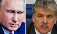 Jordbruksmagnat utmanar Putin i presidentvalet
