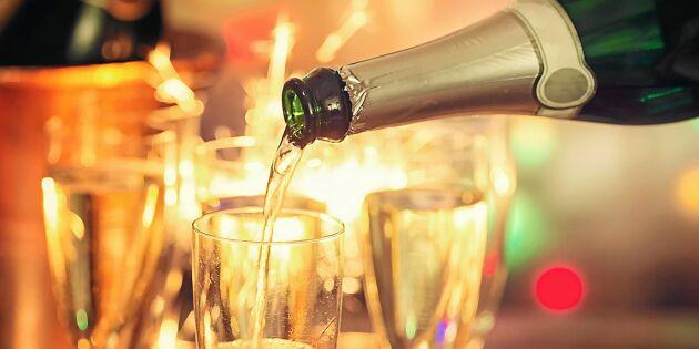Bästa vinerna till nyår - expertens tips
