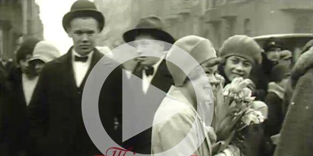 Påskrusningen har börjat - år 1929