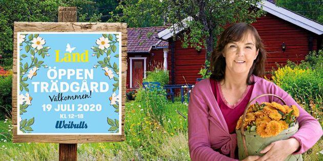 Öppen trädgård 2020 – nu öppnar anmälan till årets trädgårdsfest!