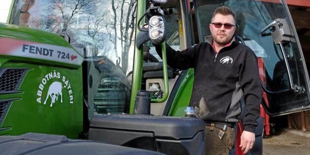 Dyrare traktor gav besparing på 360000 kronor