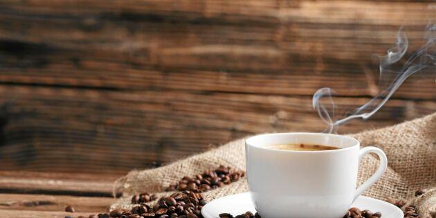 Därför kan vissa dricka kaffe på kvällen – och somna sött