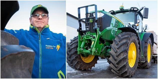 Snabb traktor sparar tid och pengar för lantbruk