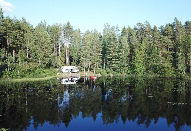 """""""Det här är fri-camping under ordnade former"""", säger initiativtagaren Axel Hjelmer."""