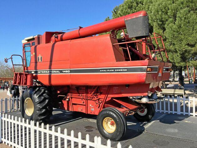 Här är International Harvester Axial Flow 1460 från 1979.