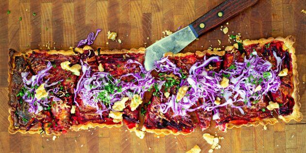 Katarinas supergoda ost- och rödbetspaj – laga den idag!