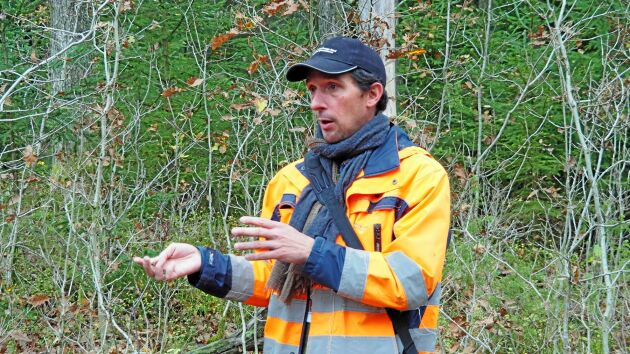 Xavier de Maupeou Enhetschef mark- och skogsförvaltningen Göteborgs stad.