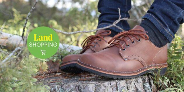 Vandra i klassiska skor från Skråmträsk