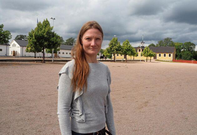 Annica Hirvi, veterinär i Finland, forskar på inlärning hos föl, och tyckte att hon fick bra jämförelser med sina egna studier på kursen.