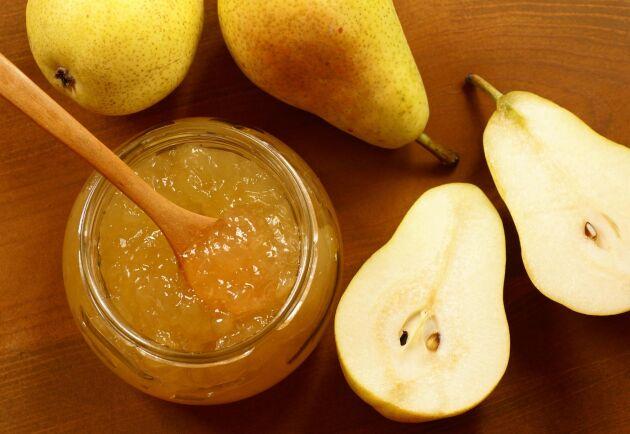 Mild och fin päronsylt med vanilj. Foto: Istock
