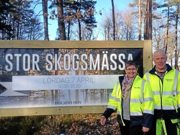 Eva och Tommy Kristiansson är värdpar för mässan på lördag.