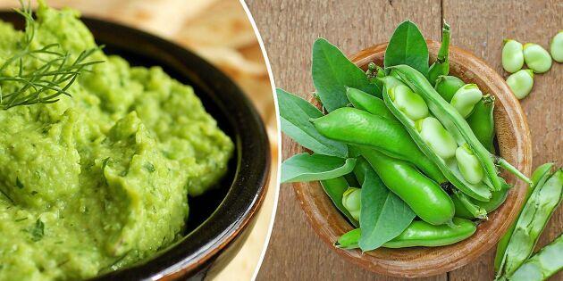 Skippa avokadon! Så gör du miljösmart guacamole –med bondböna