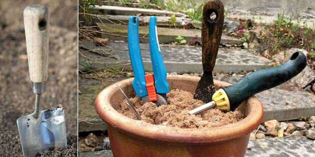 Smarta redskapskrukan som håller verktygen vassa, rena – och rostfria