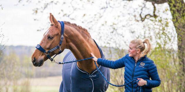 Få trodde på idén: Nu är Karins hästutrustning i OS