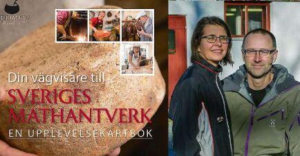 Johanna och Pär Hellström som driver Svedjan ost är mathantverkare som finns med i boken Din vägvisare till Sveriges mathantverk.