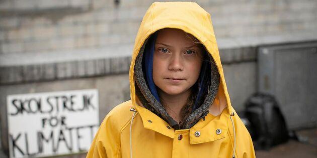 Över 100 länder klimatstrejkar med Greta
