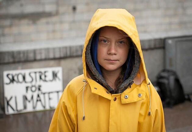 Greta Thunberg tänker inte sluta med sin klimatstrejk förrän svensk politik är i linje med Parisavtalet från 2015.