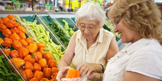 Snart blir kundkassorna handikappanpassade för dementa