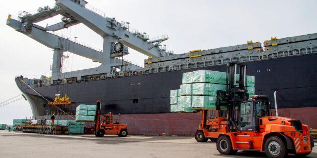 Södra ökar träexporten till USA