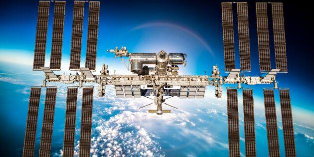 Framsteg för odling i rymden